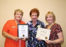 Executive Members Receive Awards from Ontario Council