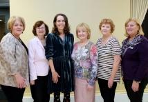 April 2016 - CFUW Members with Novelist, Cathy Buchanan
