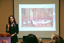 April Meeting, Novelist Cathy Buchanan 2016