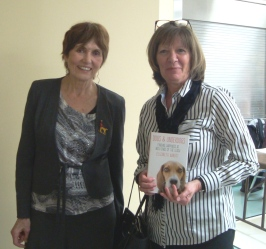 April 2017 General Meeting Speaker Elizabeth Abbott with Guest