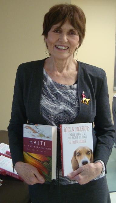 April 2017 General Meeting Speaker, Elizabeth Abbott