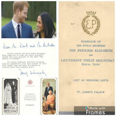 April 2018 General Meeting Royal Weddings