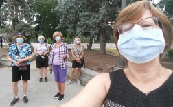 2020_06_22_Monday walks with masks